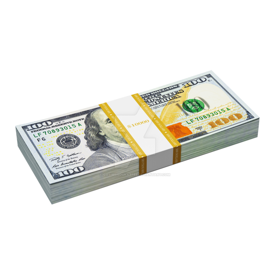 Free blue hundreds by. Money png image
