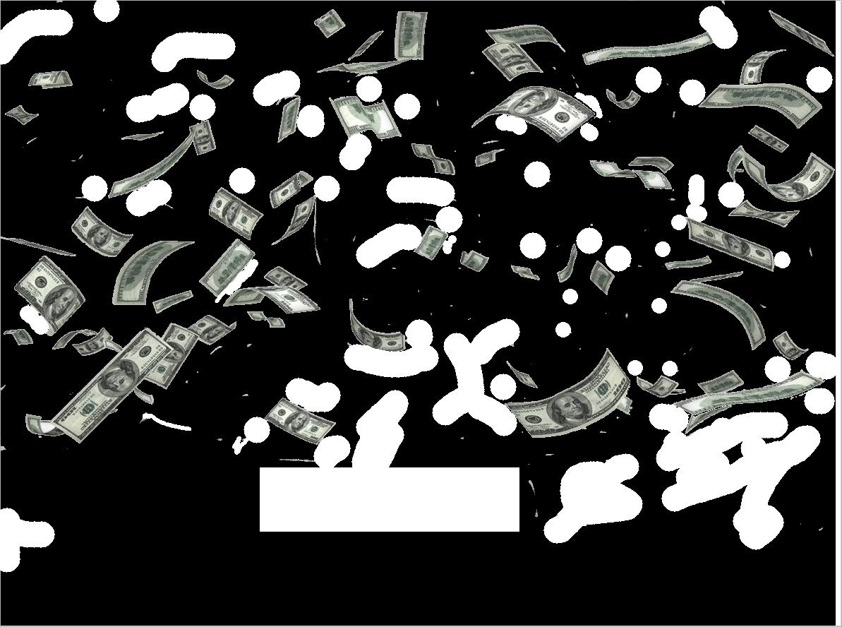 Money png image. Falling transparent images pinterest