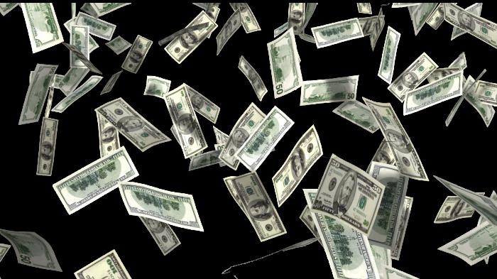 money rain png