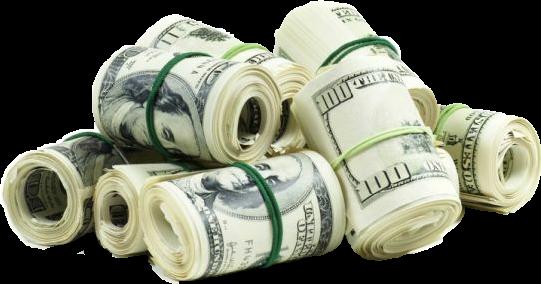 Money roll png. Rolls bands stacks racks