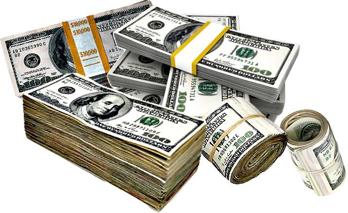 Money roll png. Rolls and stacks of