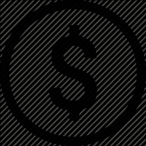 Money sign png. Social productivity line art