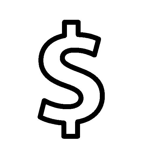 Money sign .png. Dollar logo icon free