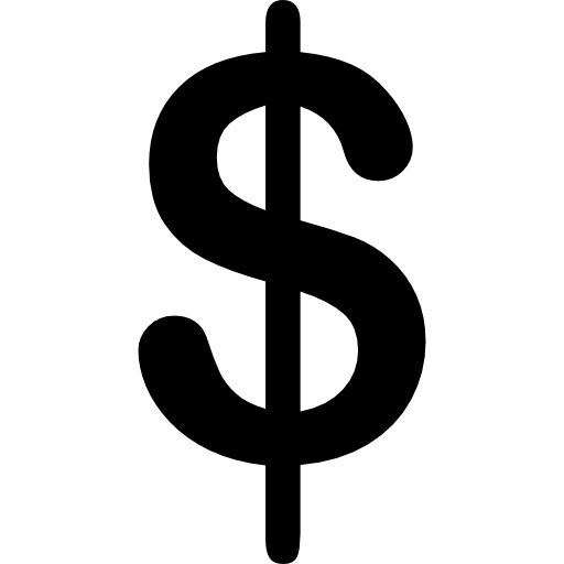 Currency flat icon svg. Money signs png