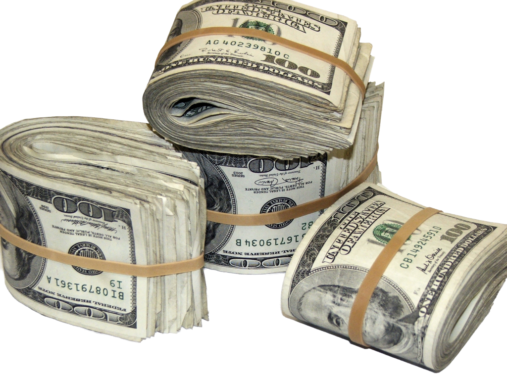 . Money stacks png