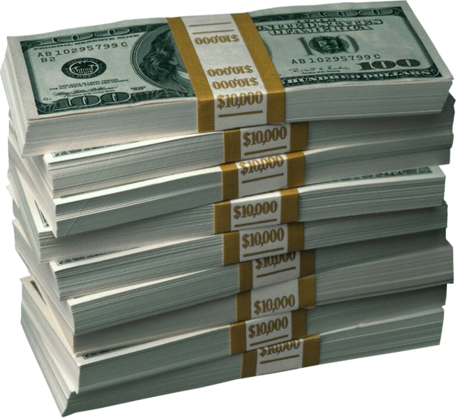 Money stacks png. Psd official psds