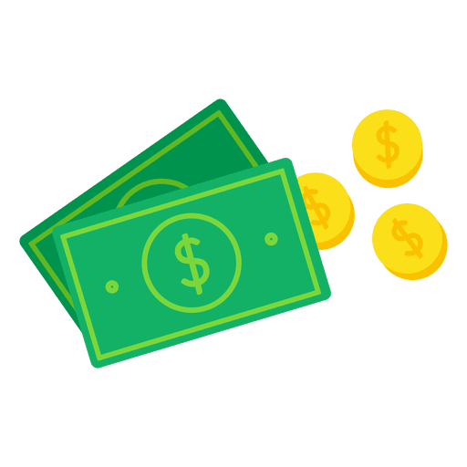 Money transparent png. Icon svg vector