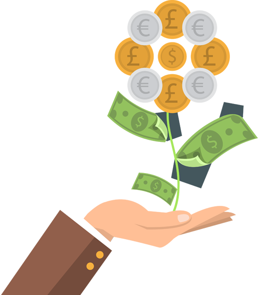 graphic transparent stock. Money tree png