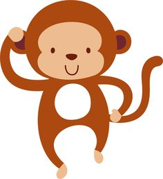 Monkey clip art hanging. Monkeys clipart