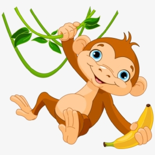 Monkey clipart character. Png cliparts cartoons free