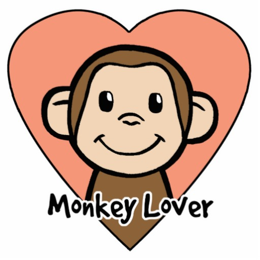 Monkey clipart kid. Cute cartoon animated best
