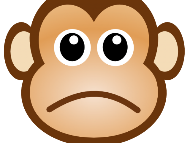 Monkey clipart kid. Happy child free download