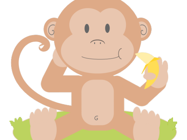 Baby x carwad net. Monkey clipart lion
