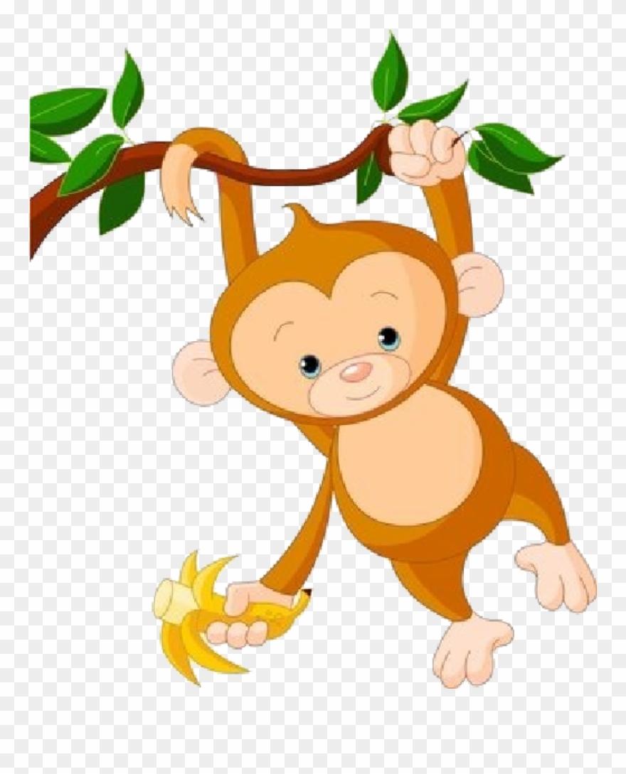 Monkey clipart monky. Cute clip art at