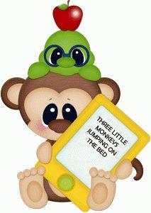 best images monkeys. Monkey clipart school
