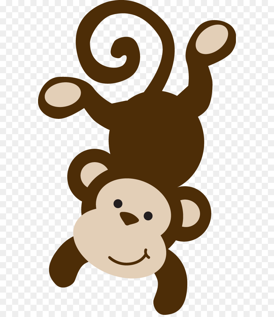 Monkey clipart stencil. For download free images