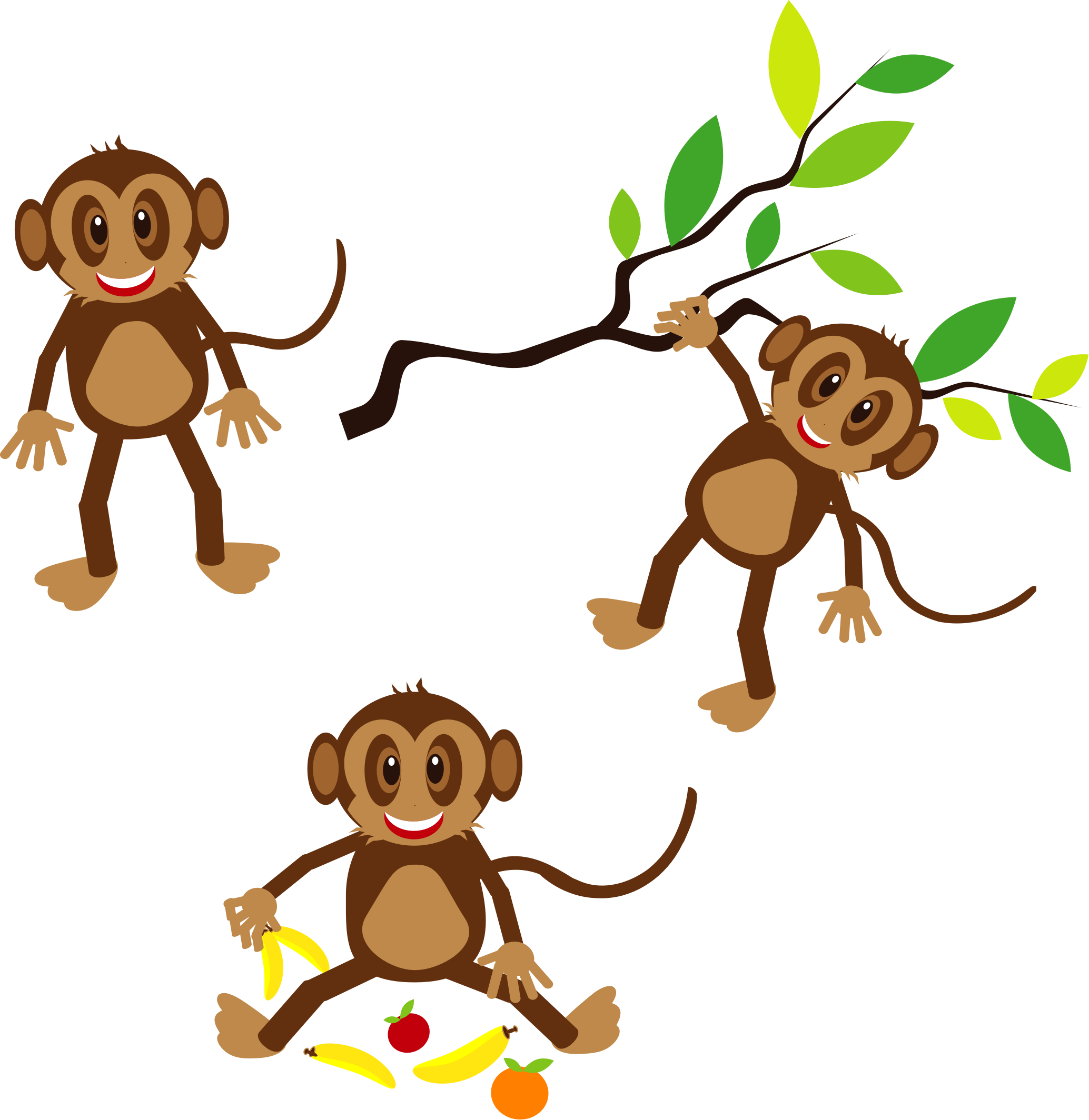 Clip art png download. Monkey clipart thanksgiving