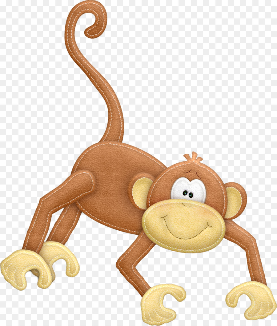 Monkeys clipart toy. Monkey cartoon png download