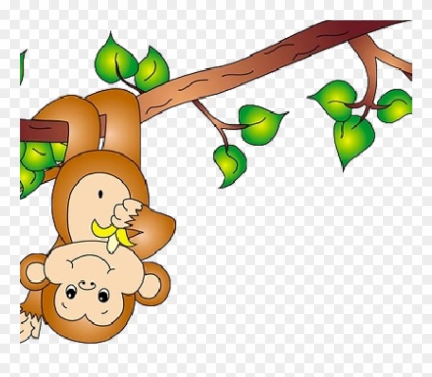 Monkey cross black and. Monkeys clipart tree