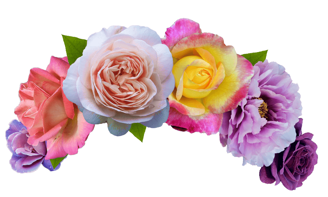 Monkey emoji with flower crown png. Flowers cut search garden