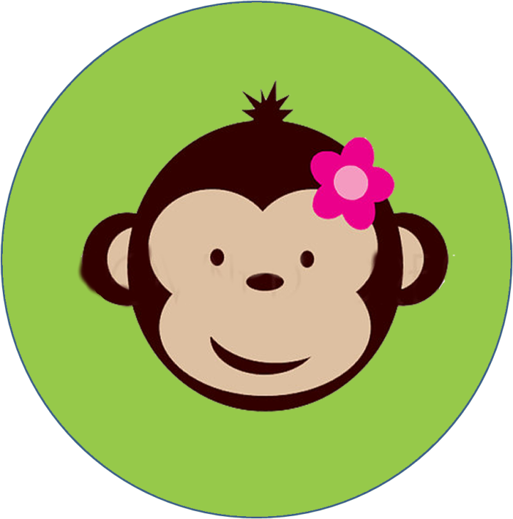 Kit imprimibles fiestaideas com. Monkeys clipart cap