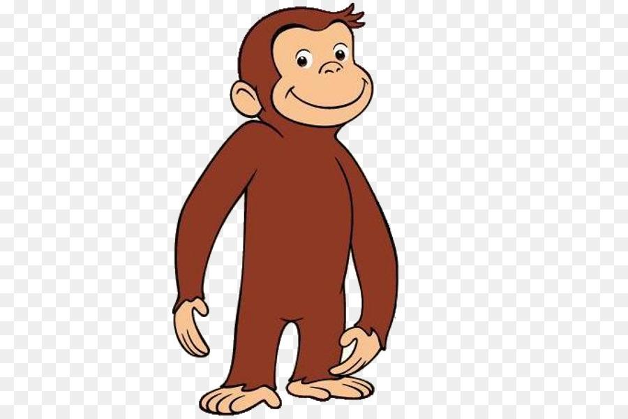 Monkeys clipart curiosity. Cartoon