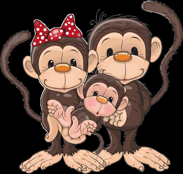 monkeys clipart mokey