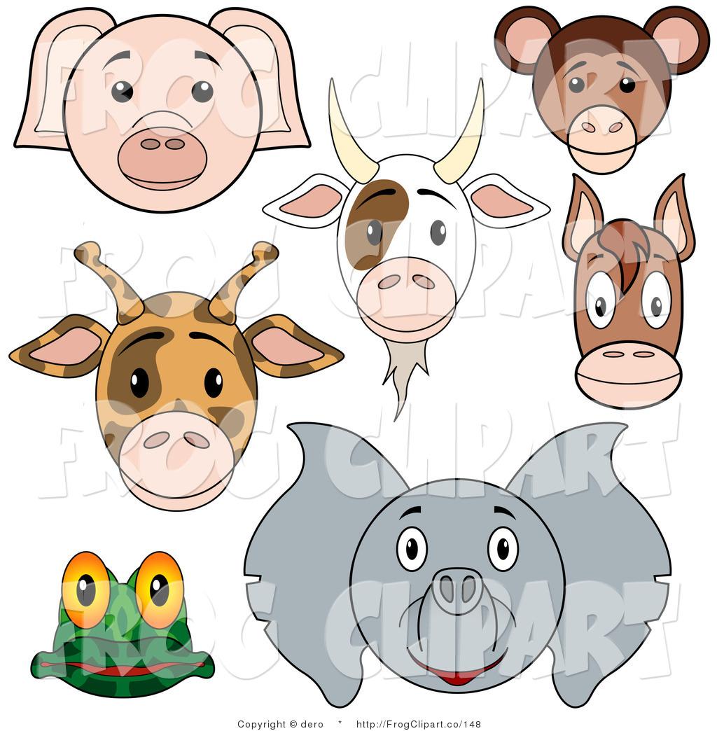 Clip art of a. Monkeys clipart pig