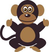 Monkeys clipart pig. Free monkey writing cliparts
