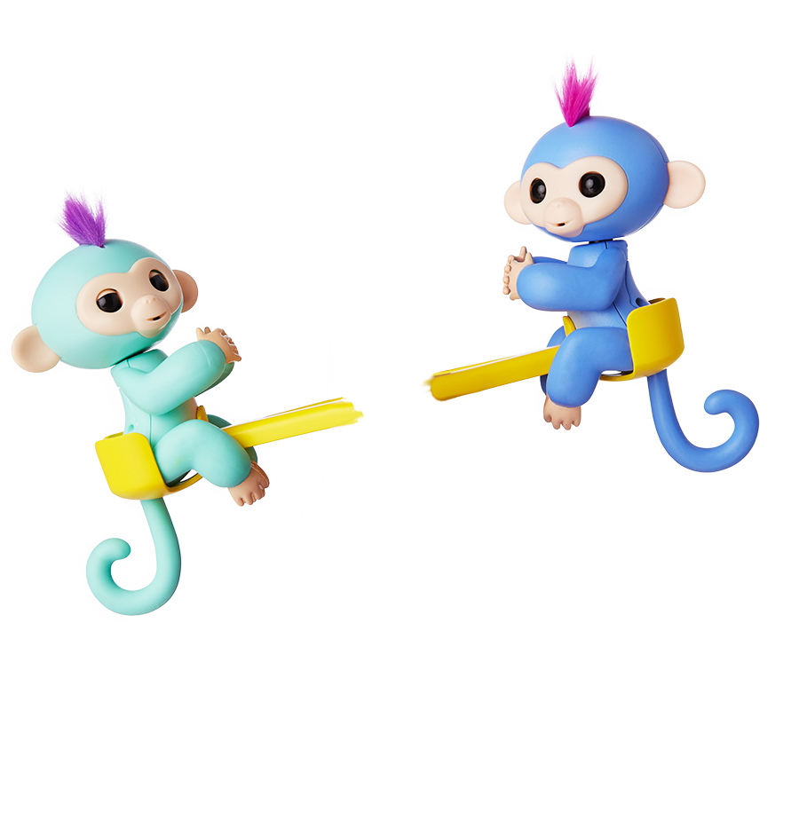 Fingerlings by wowwee friendship. Monkeys clipart toy