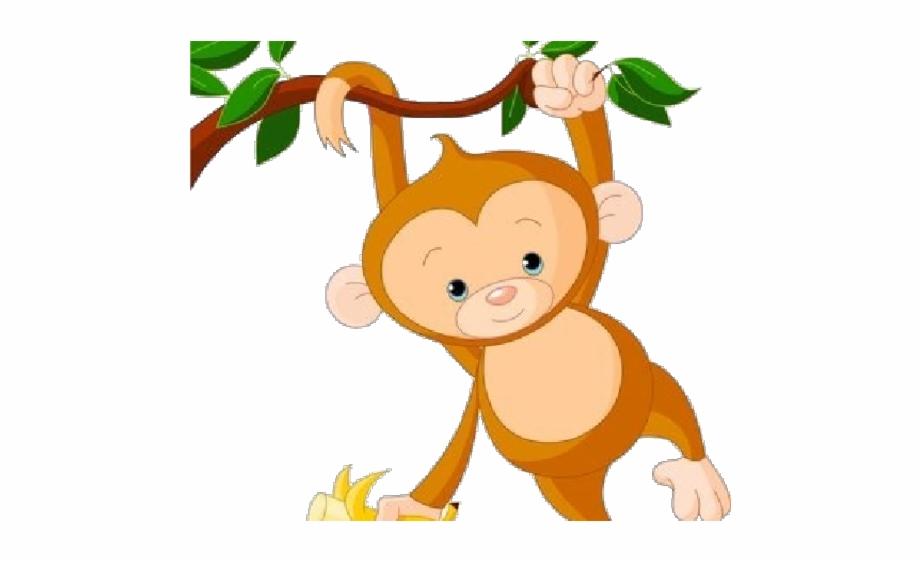 Monkeys clipart transparent background. Monkey hanging