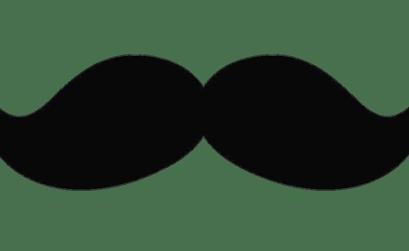 Mustache clipart chalkboard. Frames clip art beauty