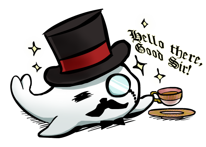 Good seal by norinoko. Narwhal clipart sir