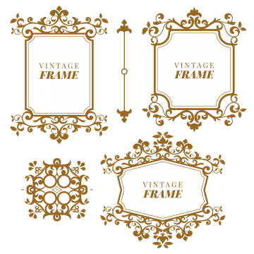 Vectors psd and clipart. Monogram frame png
