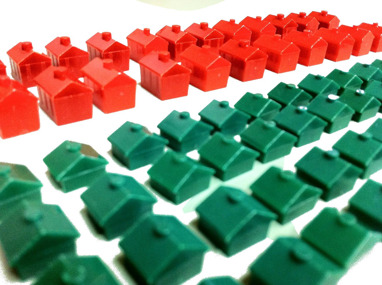 Rent control apartment management. Monopoly house png