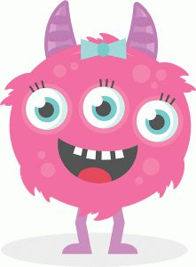 Monster clipart 3 eye.  best images little