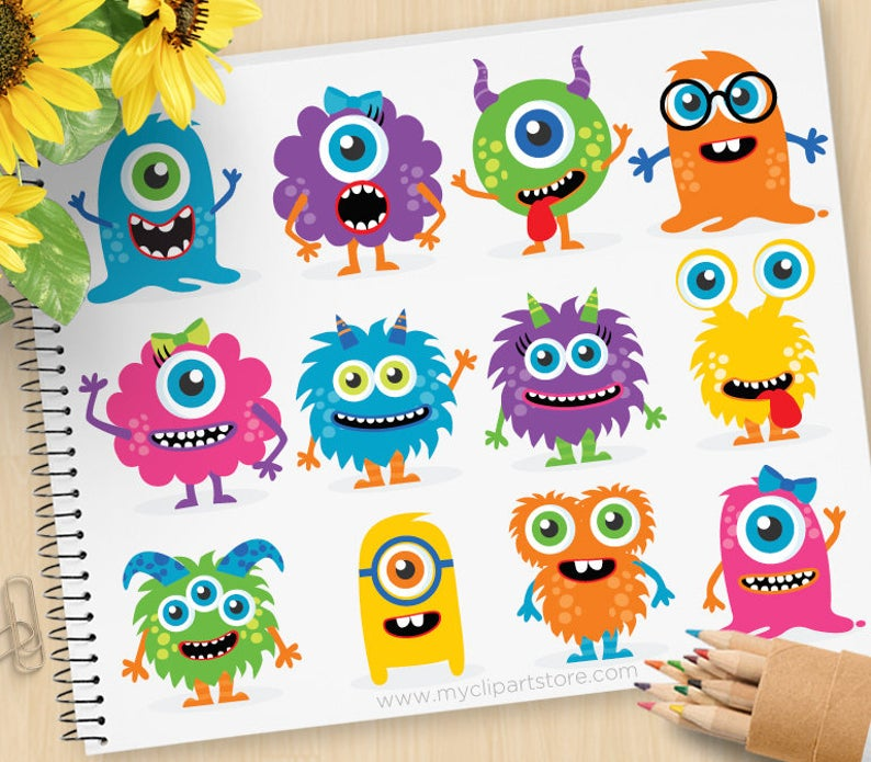 Monster Inc Baby Png , Free Transparent Clipart - ClipartKey