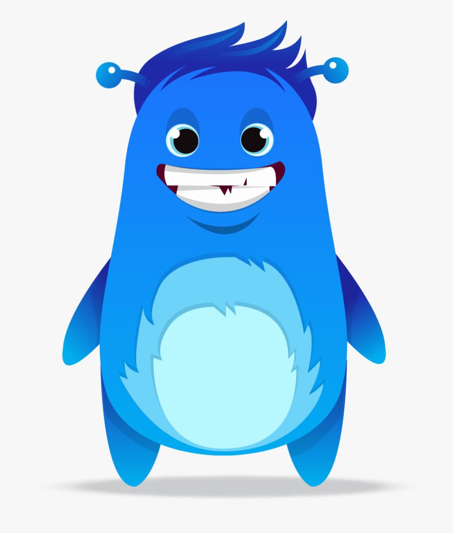 Monster clipart blue monster.  collection of dojo