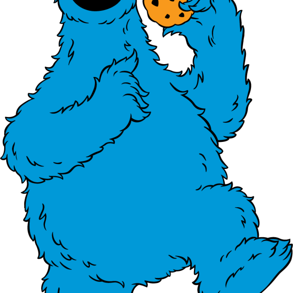 Monster clipart blue monster. Cookie volleyball hatenylo com