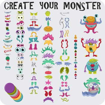 Monster clipart body part. Create your