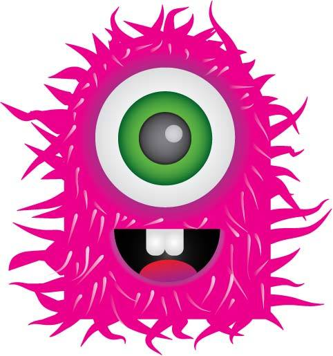 Monster clipart jpeg. Scary free images clipartpost