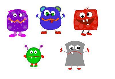Monster clipart kindergarten. Love two teach for
