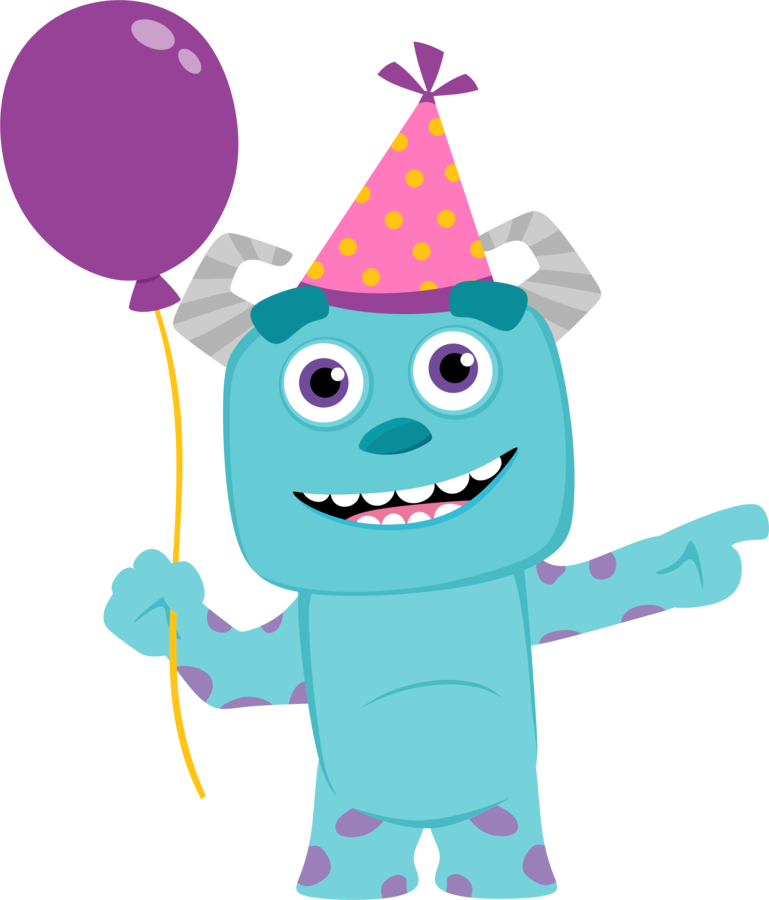 Monster clipart monster face. Birthday free download best