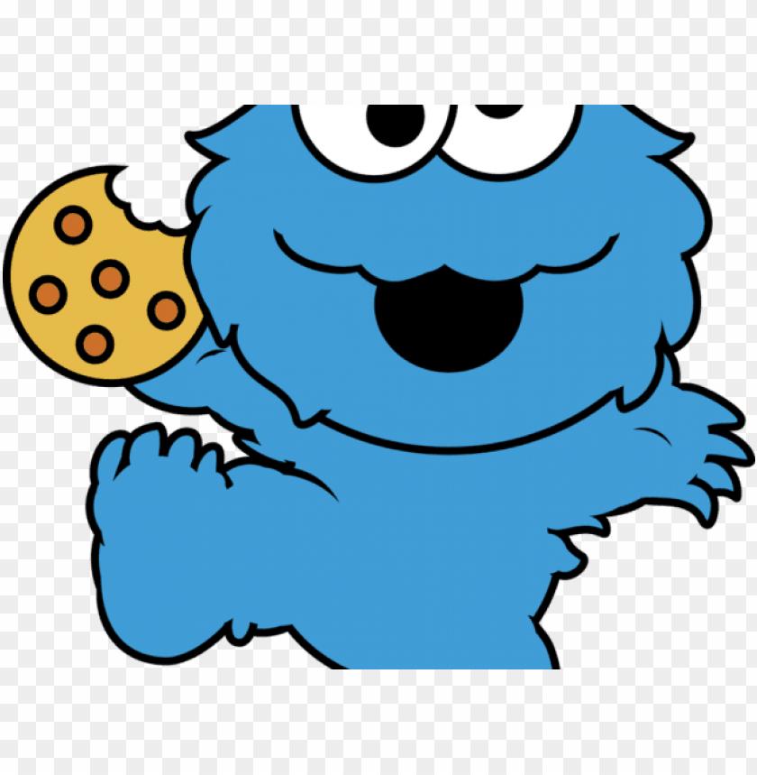Monster clipart monstruo. Cookie cute come galletas