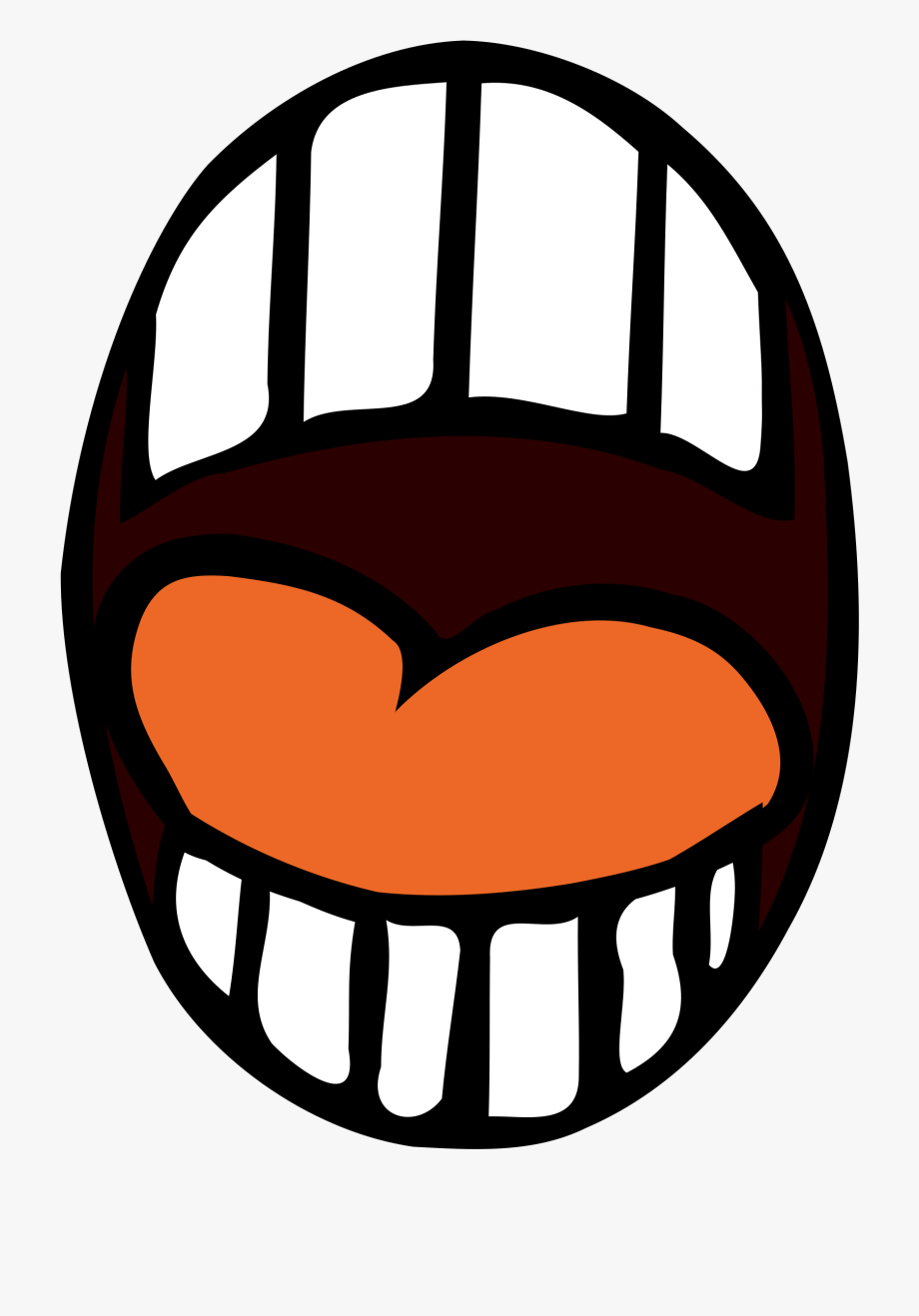 Clip art free cliparts. Mouth clipart wide open mouth