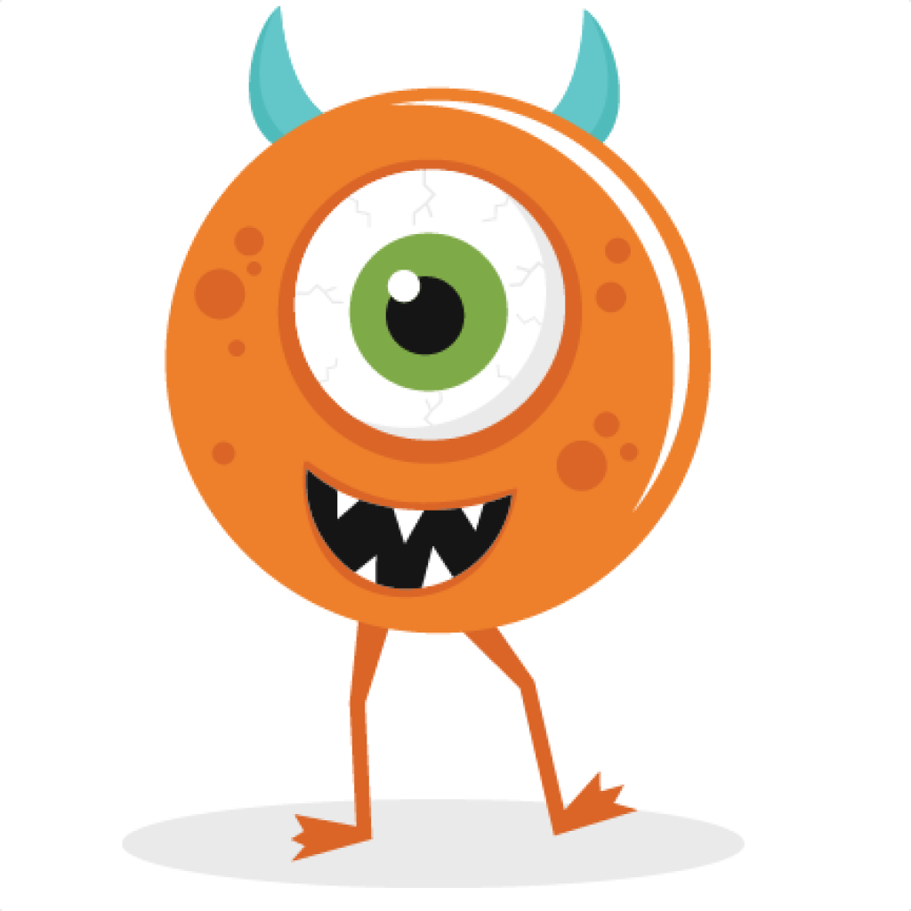 Cute Monster Clipart animal clipart hatenylo