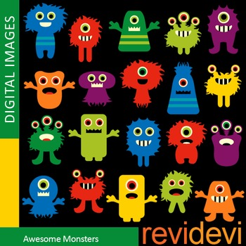 Monster clipart teacher. Clip art colorful monsters