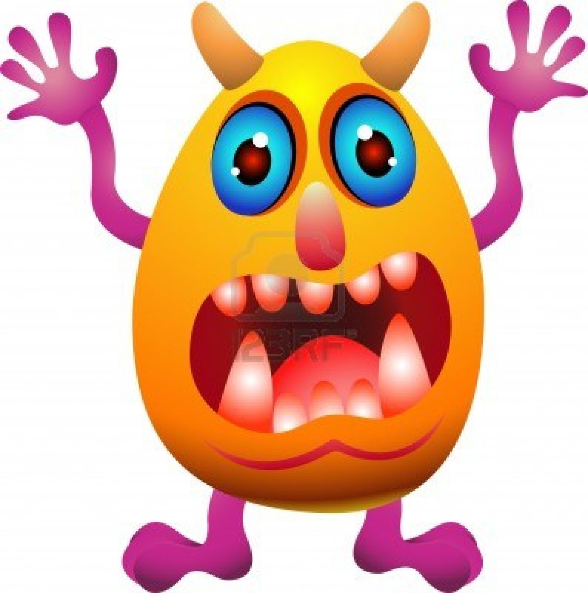 Monster clipart tongue. Free download clip art
