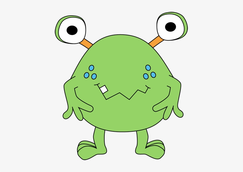 Free cute clip art. Monster clipart two eyed