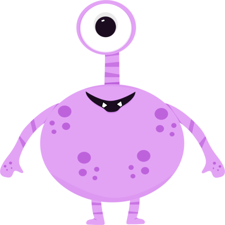 Monster clipart two eyed. Free pictures of a